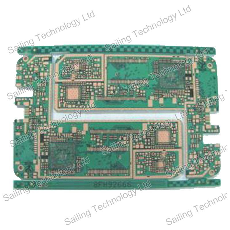 12-Layer PCB, Industrial PCB, Printed Circuit Board Industry, 2.4mm PCB