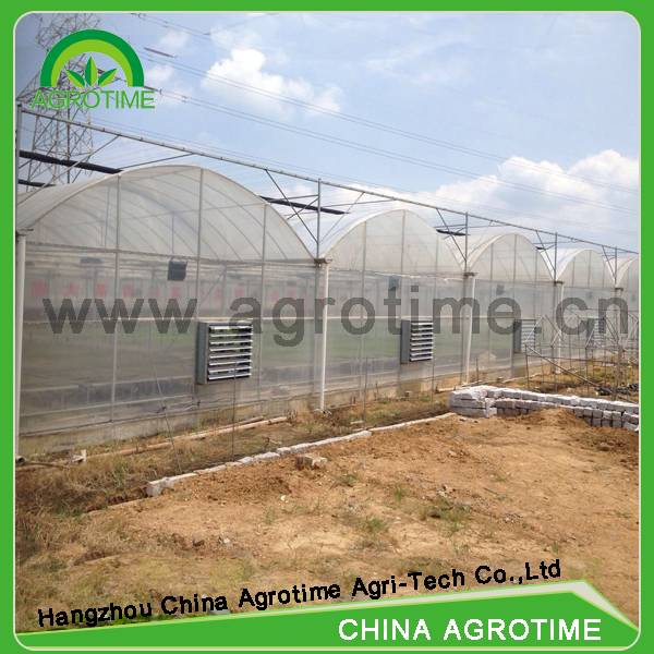 Agrotime plastic greenhouse film greenhouse selling used greenhouse/200 micron greenhouse film