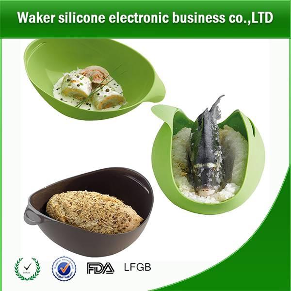 silicone fish steamer