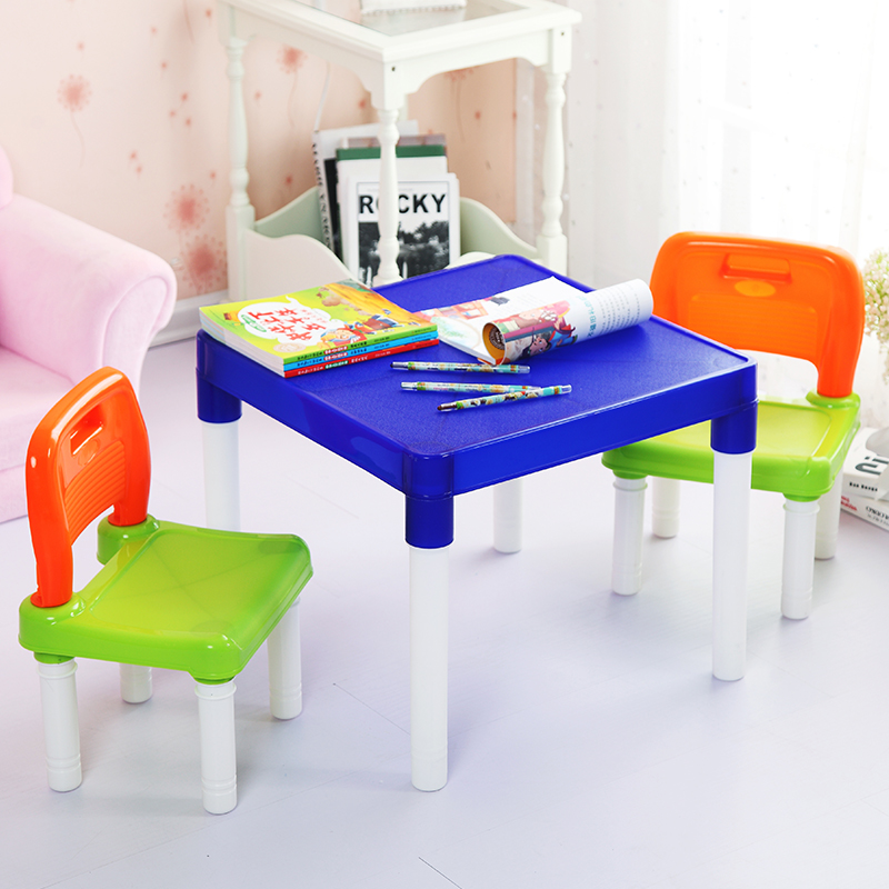 Wholesale plastic childrens tables and chair