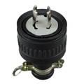 Non NEMA Locking Rubber Plug LK8220