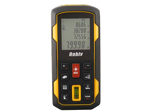 Dobiy laser distance meter D80+ 80m with spirit bubble