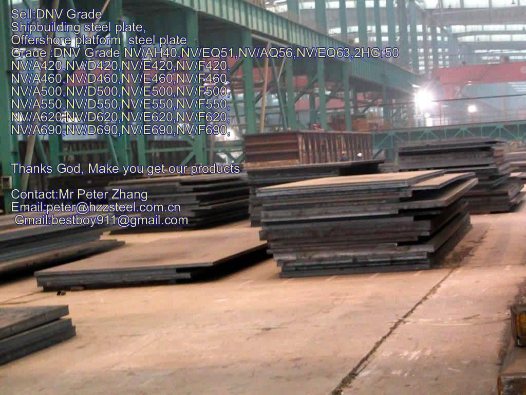 Sell :Shipbuilding steel plate,Grade,DNV/A620,NV/D620,NV/E620,NV/F620,API 5L 2HGr50 steel plate/shee