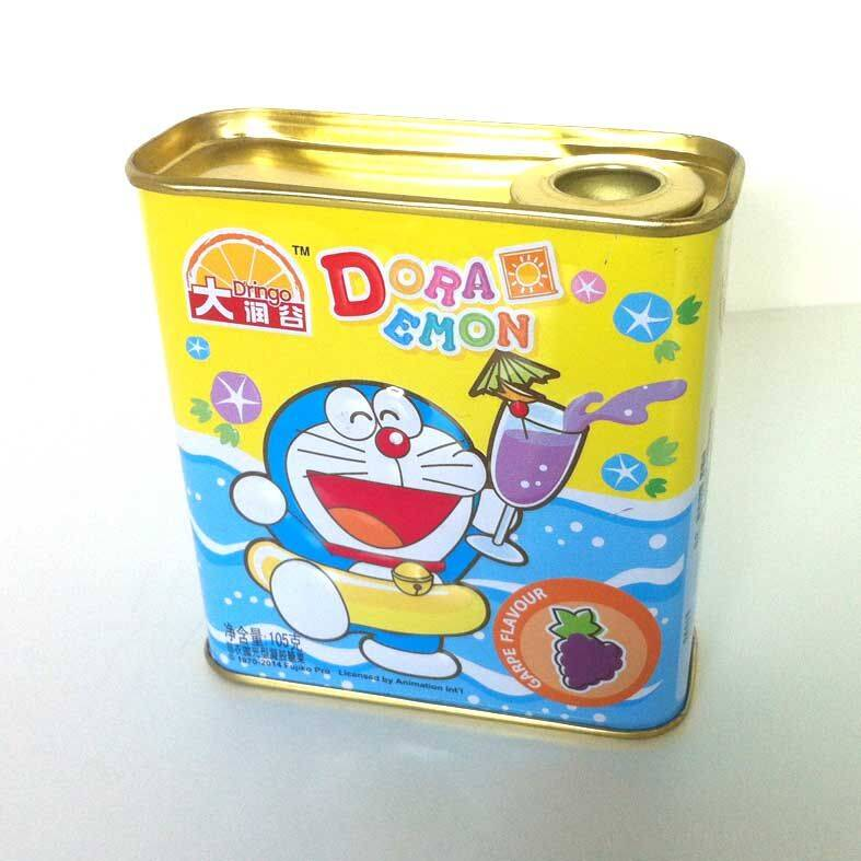 Small Rectangular Candy Tin Box