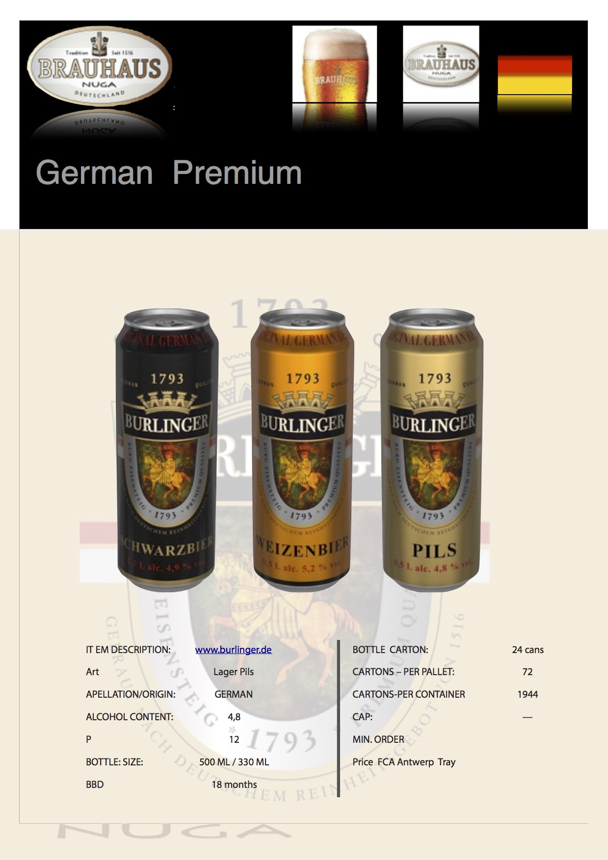 Wheat beer dark beer Lager /pils, OEM, non alcoholic beer