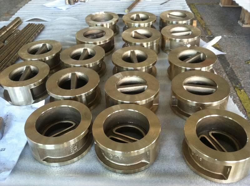 C95800 Dual-plate wafer Check Valve