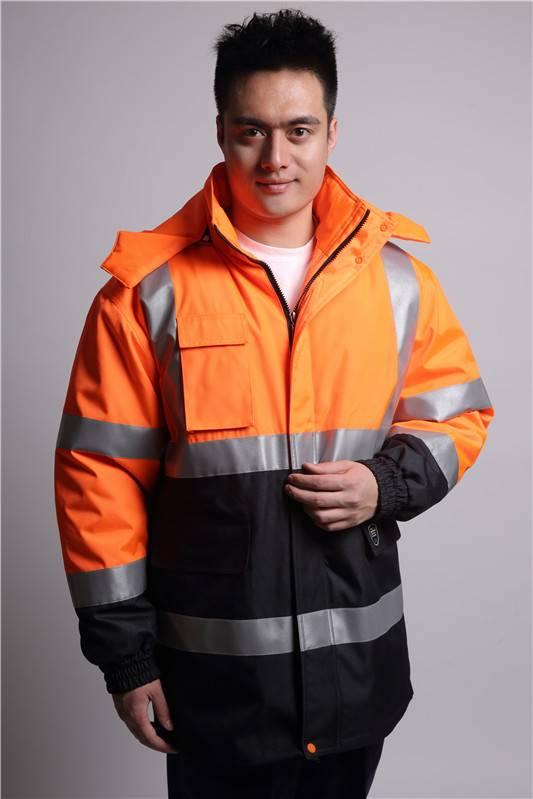 Wholesale new style winter reflective jacket