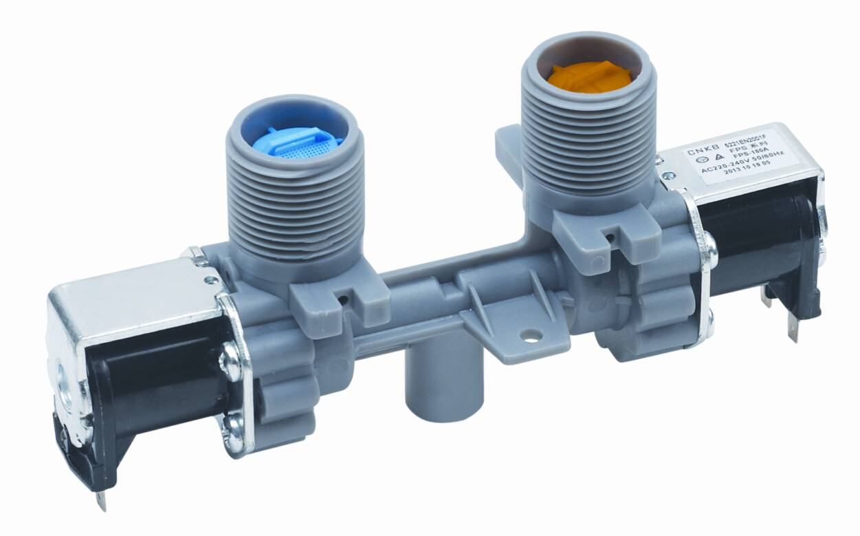 Two way valve for washing machine