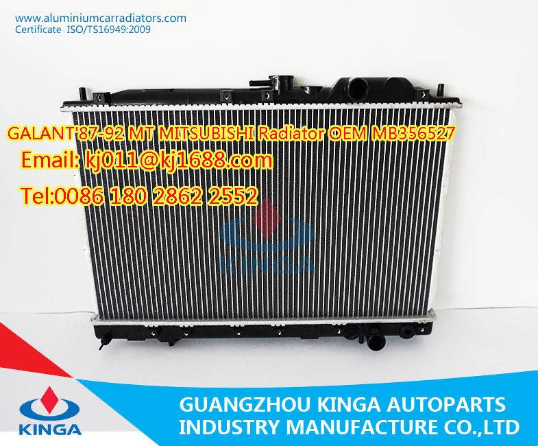 Car Radiator GALANT'87-92 MT MITSUBISHI OEM MB356527
