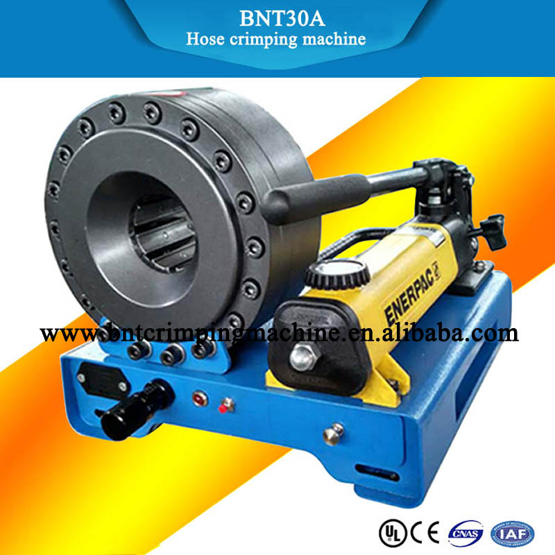2018 barnett hydraulic hose crimping machine Techmaflex 1 inch P32 hose crimper