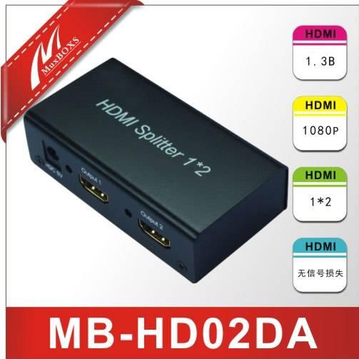 1Input ,2output HDMI Splitter