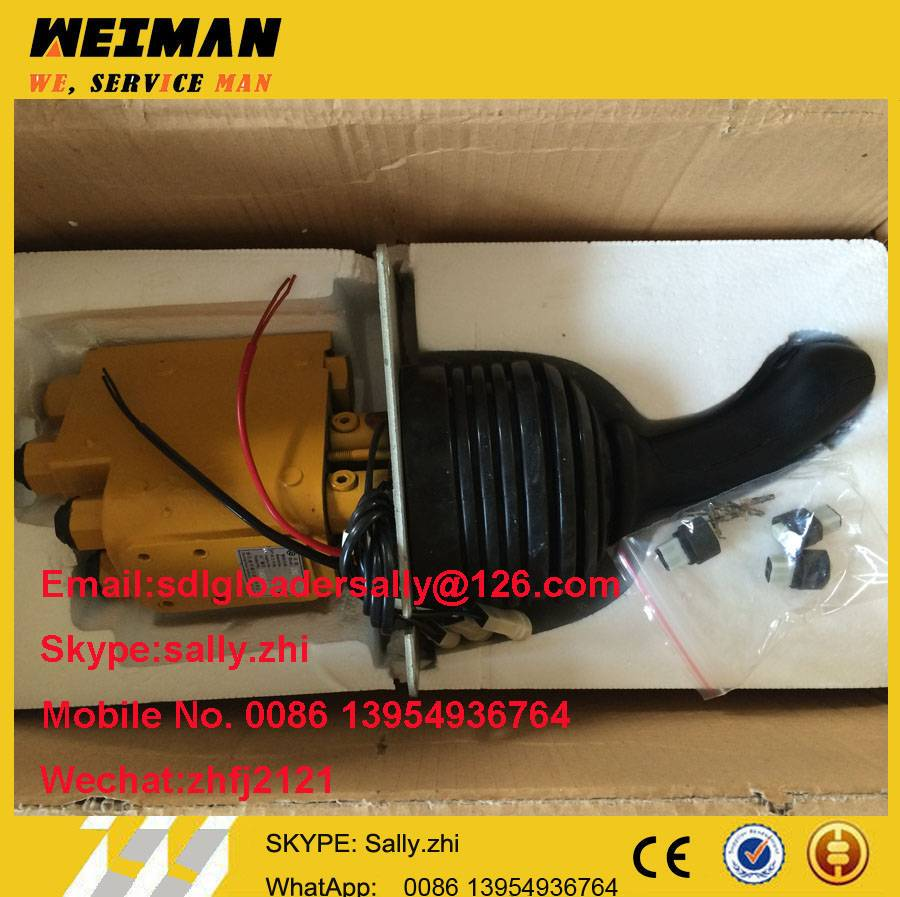 SDLG pilot valve, 4120002027  with yellow colour for SDLG wheel loader LG956L