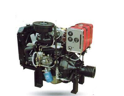 20hp-35hp small light 2 cylinder diesel engine