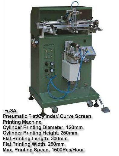 Flat/Cylinder/ Curve Screen Printing Machine