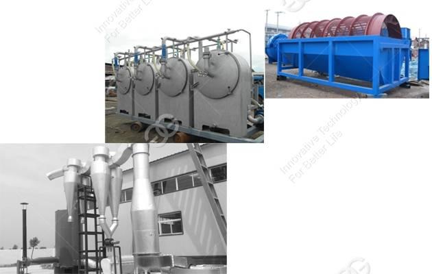 hot selling cassava starch production machinery