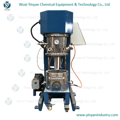 lab scale vertical dual planetary mixer