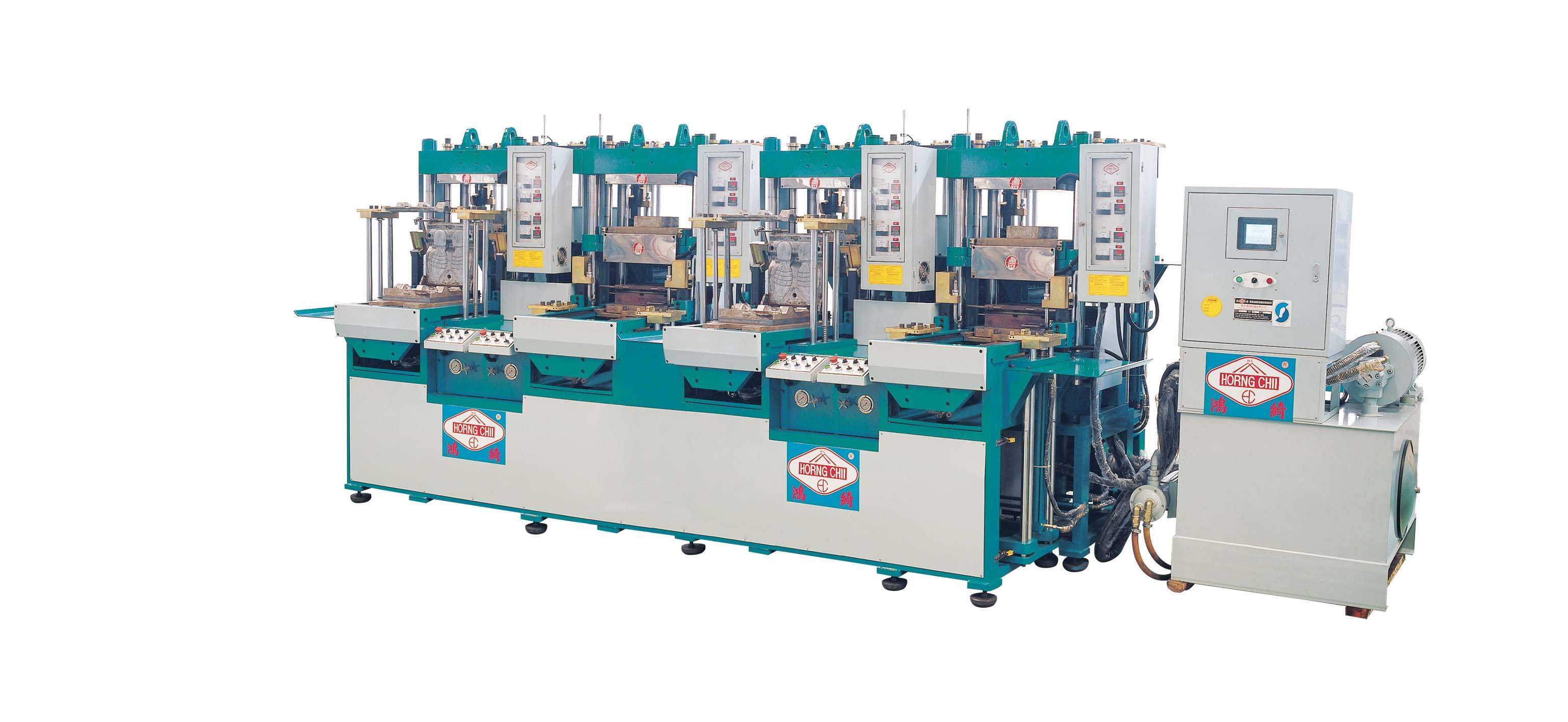 HC-328 Automatic Rubber Molding Machine