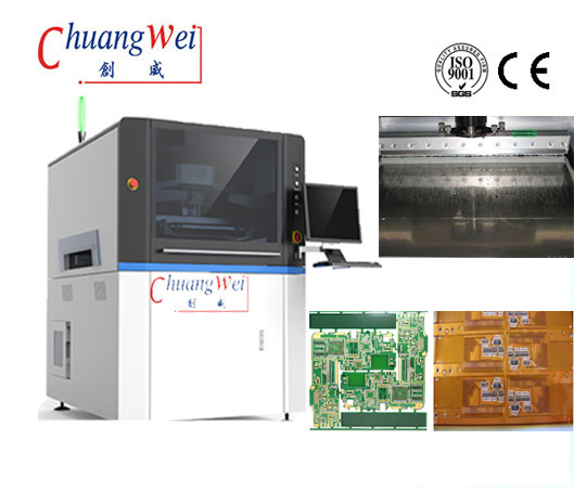 China Auto PCB Solder Paste Printing with FPC Printers,CW-L6