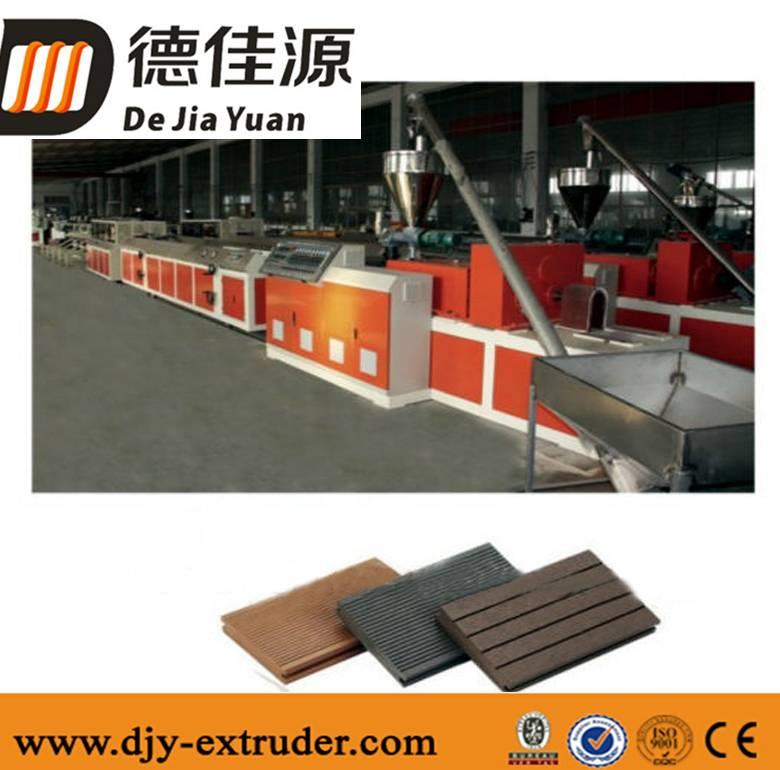PVC wood plastic WPC profile extrusion line
