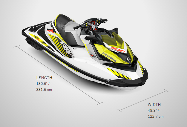Brand New 2017 Sea Doo RXP-X 300 Personal Watercraft Jet Ski
