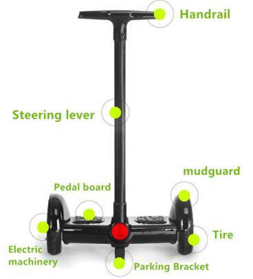 2016 new shenzhen two wheel electric hoverboard  scooter
