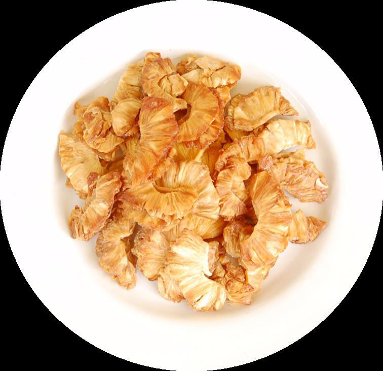 Organic dried pineapple in bulk by YAO FRUITS