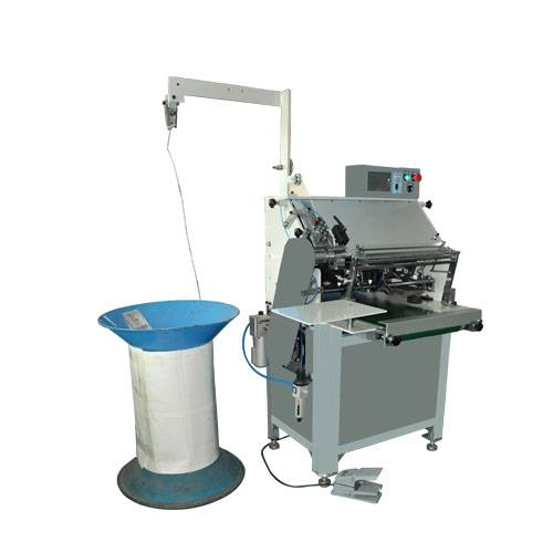 Automatic Steel Spiral Coil Forming & Binding Machine