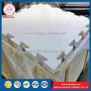 uhmwpe plain white ice rink board