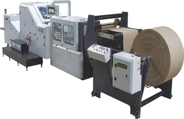 Brown Kraft Paper Bag Making Machine SKYPE:KAISERZY