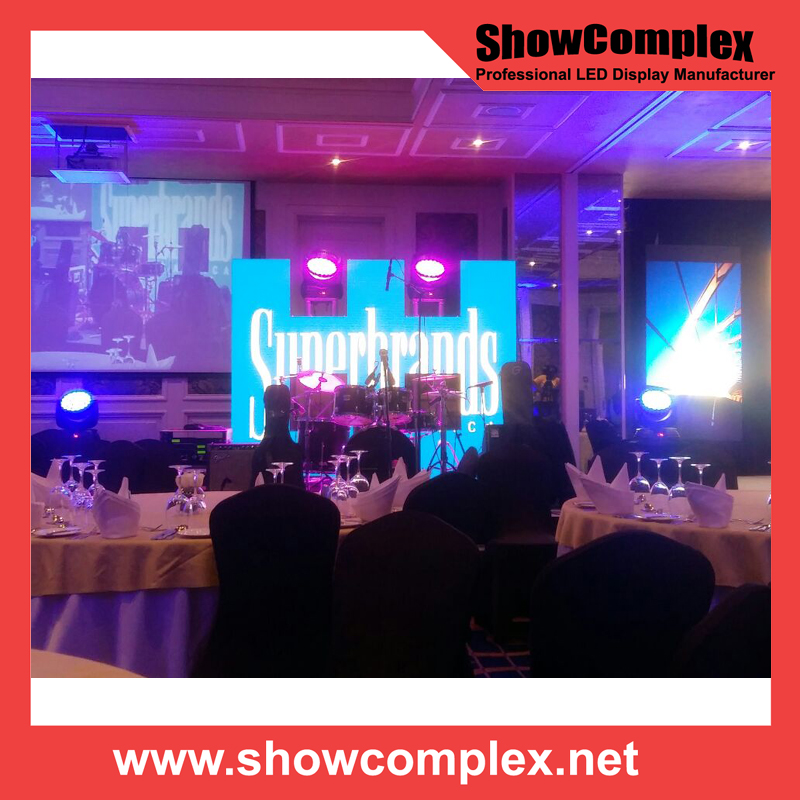 P3.91 Stage Show LED Display Ultra Thin LED Screen