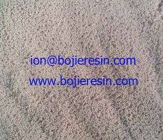 dying waste water decoloration resin