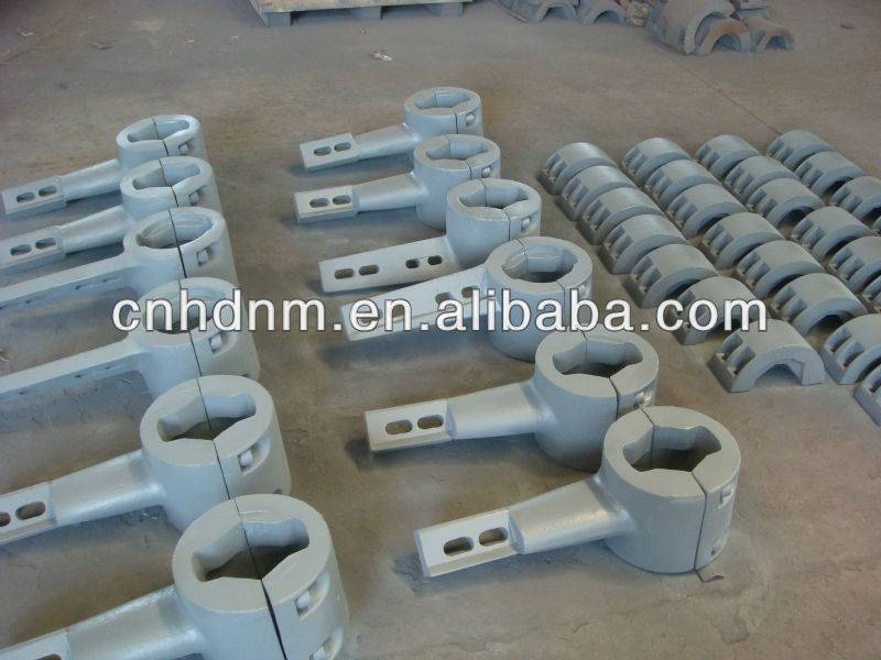 Factory direct sale concrete mixing machine wear-resistant spare parts