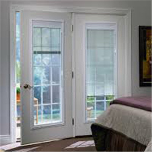 Double Glass with Built in Blinds Motorized for Window and Door