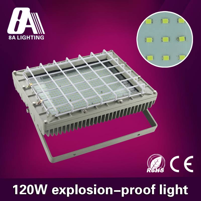 High quality Gas Satation IP67 120W LED explosion proof light fixture