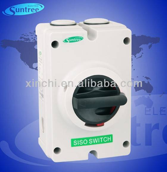 DC1000V isolating switch safety switch has passed IEC, TUV, SAA certificate