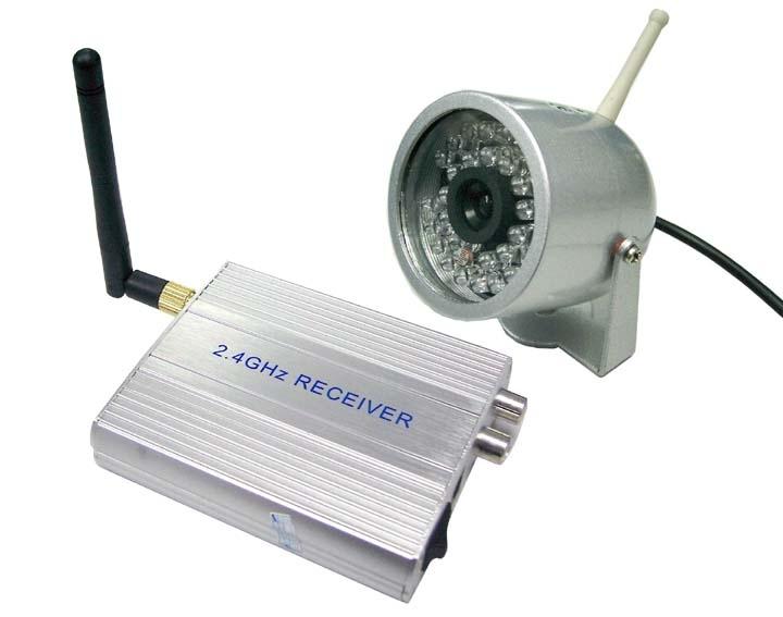 2.4G night vision wireless camera 813T