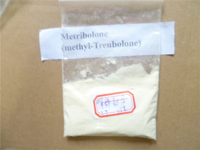 Pharmaceutical Muscle Building Raw Steroid Methyltrienolone CAS 965-93-5