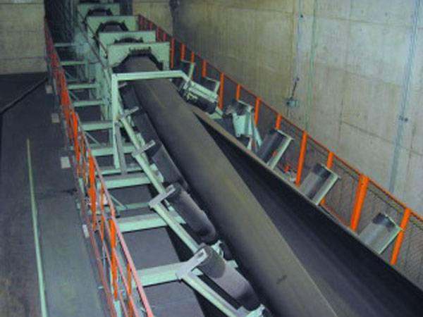 Tubular(pipe type) Conveyor Belt