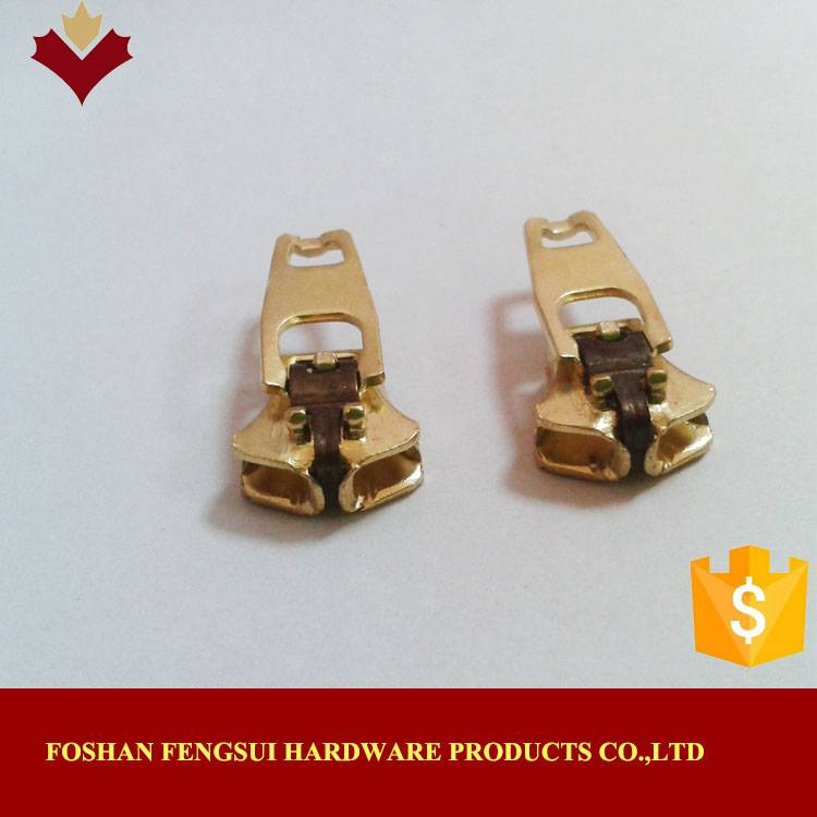 Yg spring lock zips sliders manufacturer from China