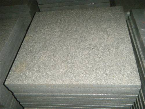 G654 flamed tiles, China Grey Granite tiles, Flamed Grey Granite tiles, Dark Grey granit flamed tile