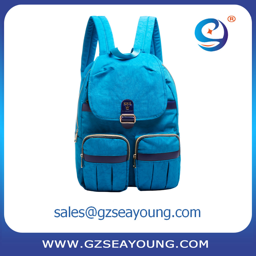 wholesale 17 inch casual style backpack light weight durable backpack