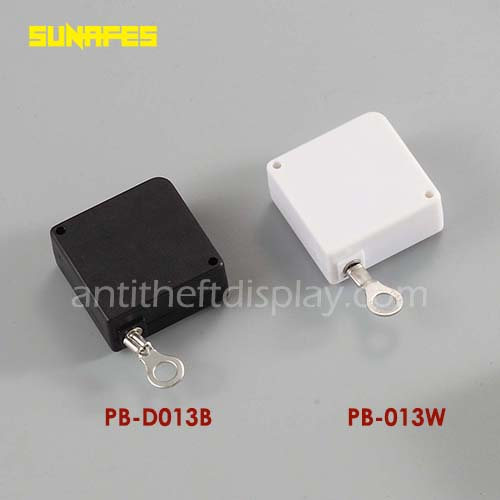 Retractable Recoiler and Pull Box For Cell Phone Security Display