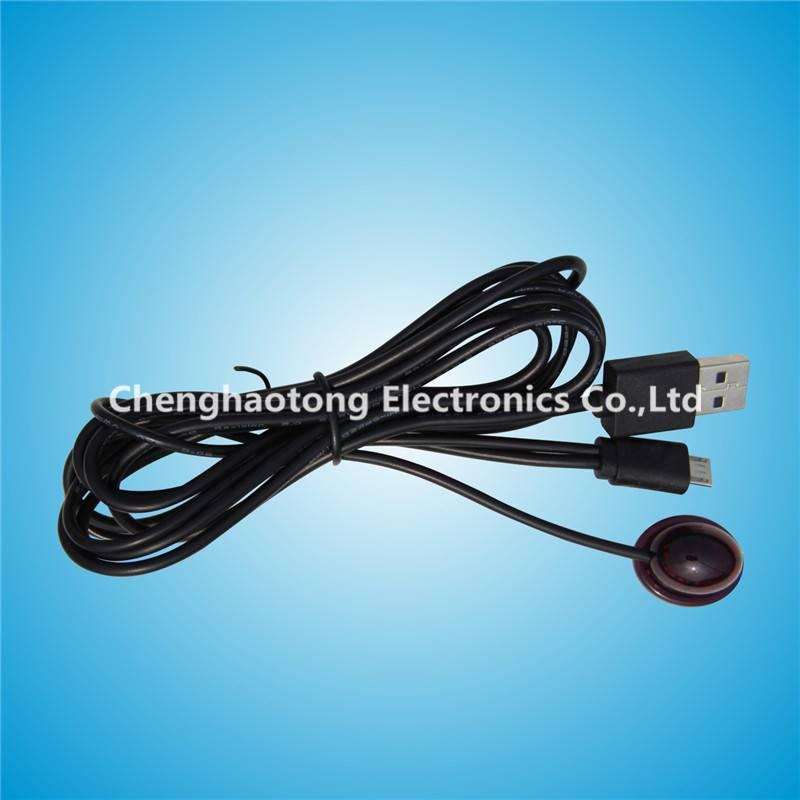 IR Receiver Cable with usb plug  & mini jack