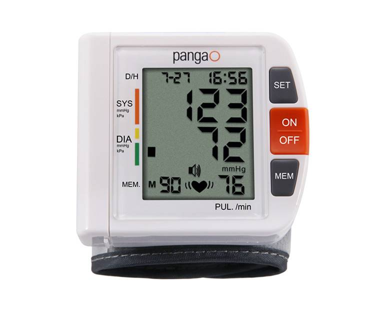 CE and FDA Approval Wrist Blood Pressure Monitor
