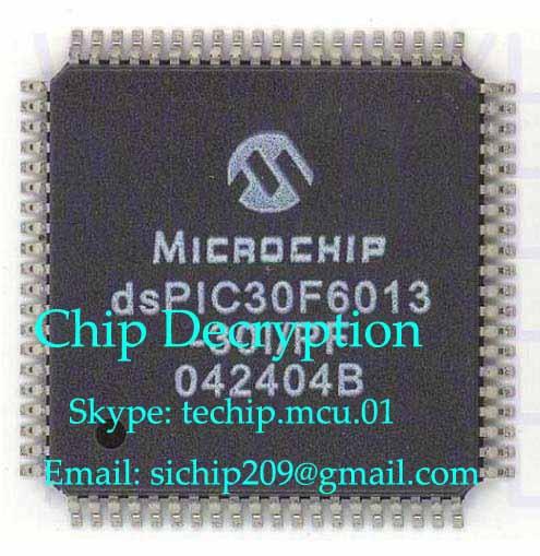 Chip decryption PIC24HJ64GP204
