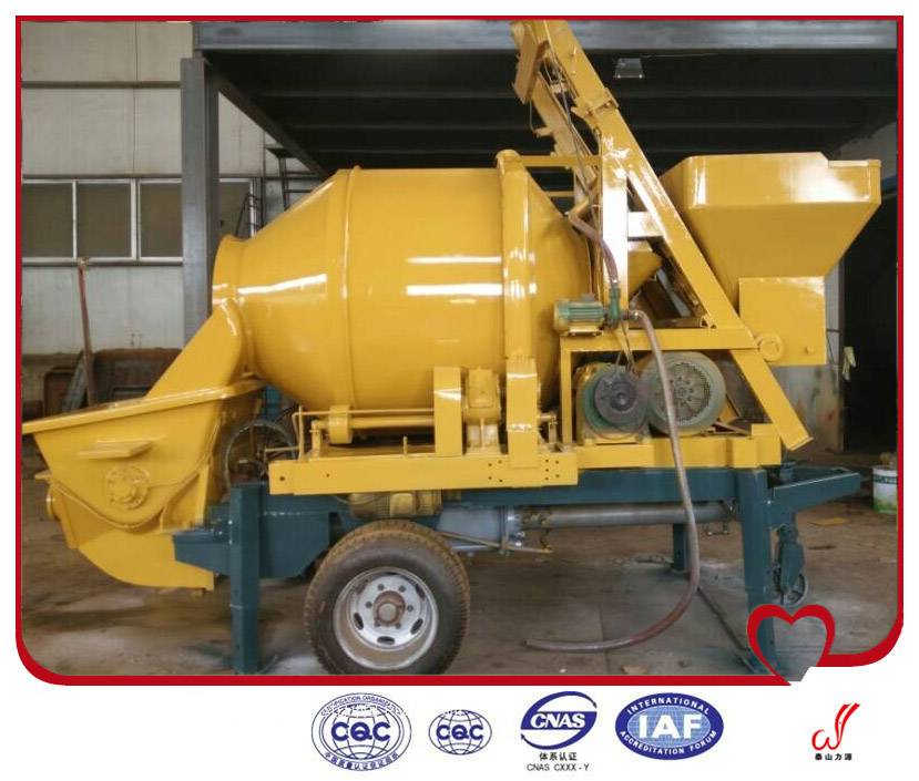 high quality diesel or electric concrete pump from China manufacturer