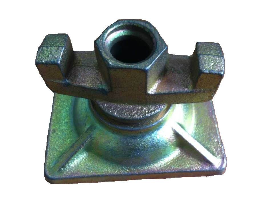 CAST-Triateral washer with square base