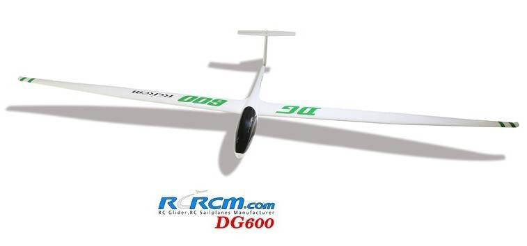 DG600-scale composite glider