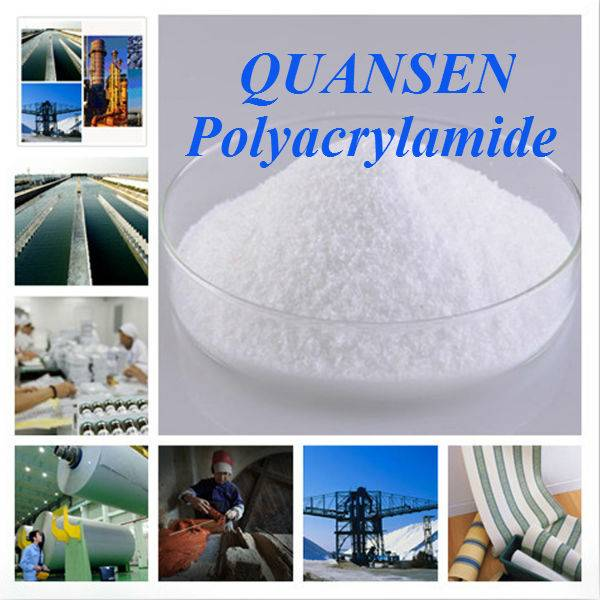 High quality flocculant / polyacrylamide/ anionic polymer / cationic polymer for waste water treatme