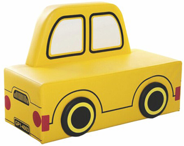 Softplay Equipment Kids Sofa Car Shape Kids Soft Play Set Indoor Playground